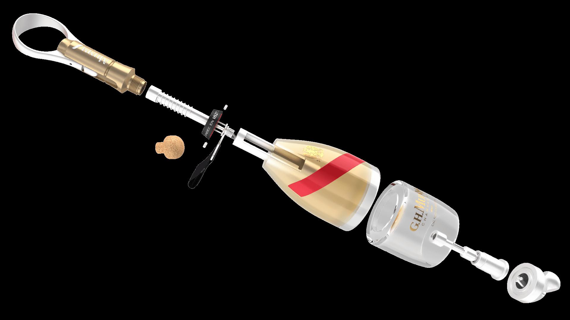 Resultado de imagen para octave de gaulle bottle champagne