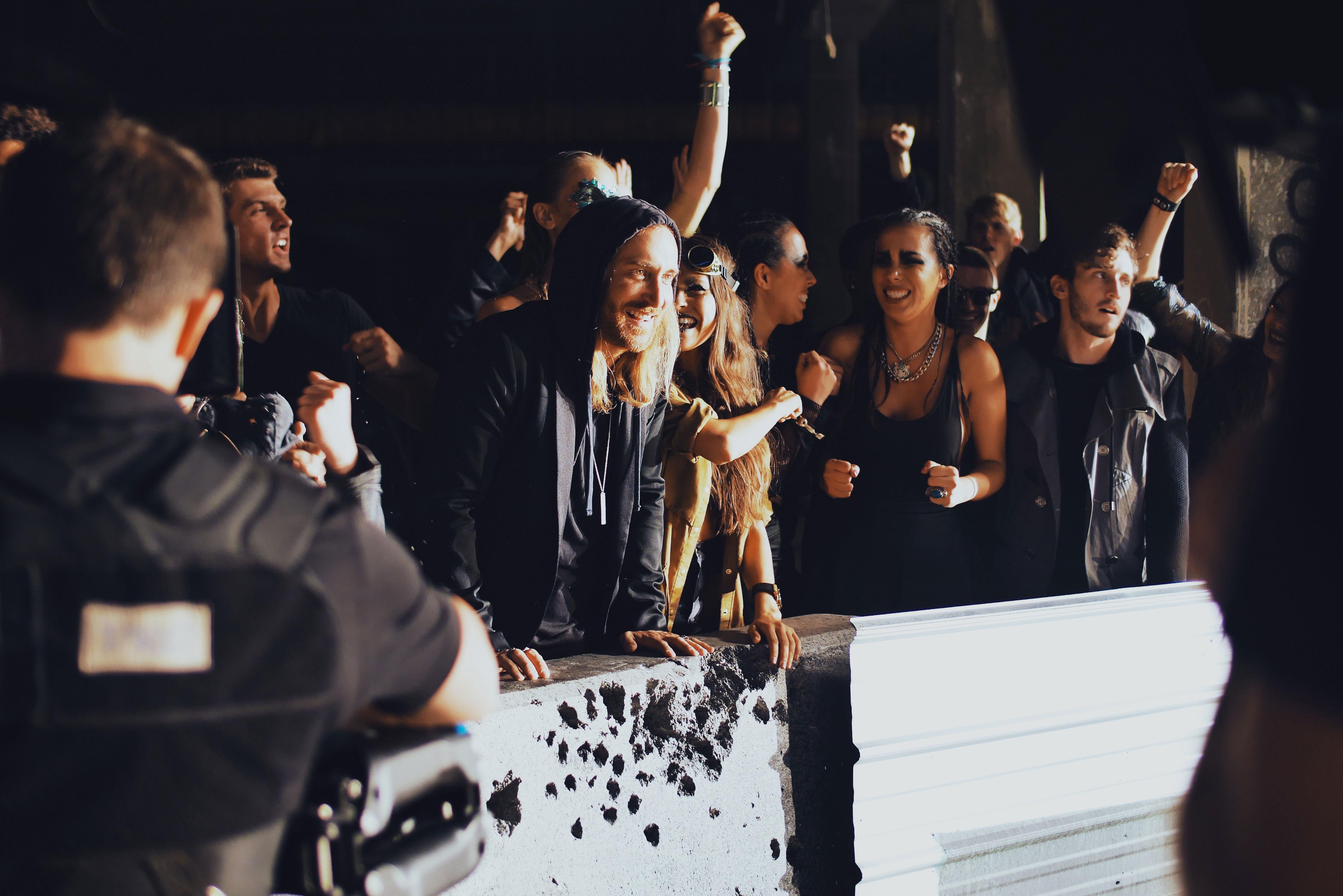 DIETRO LE QUINTE DEL NUOVO VIDEO DI DAVID GUETTA