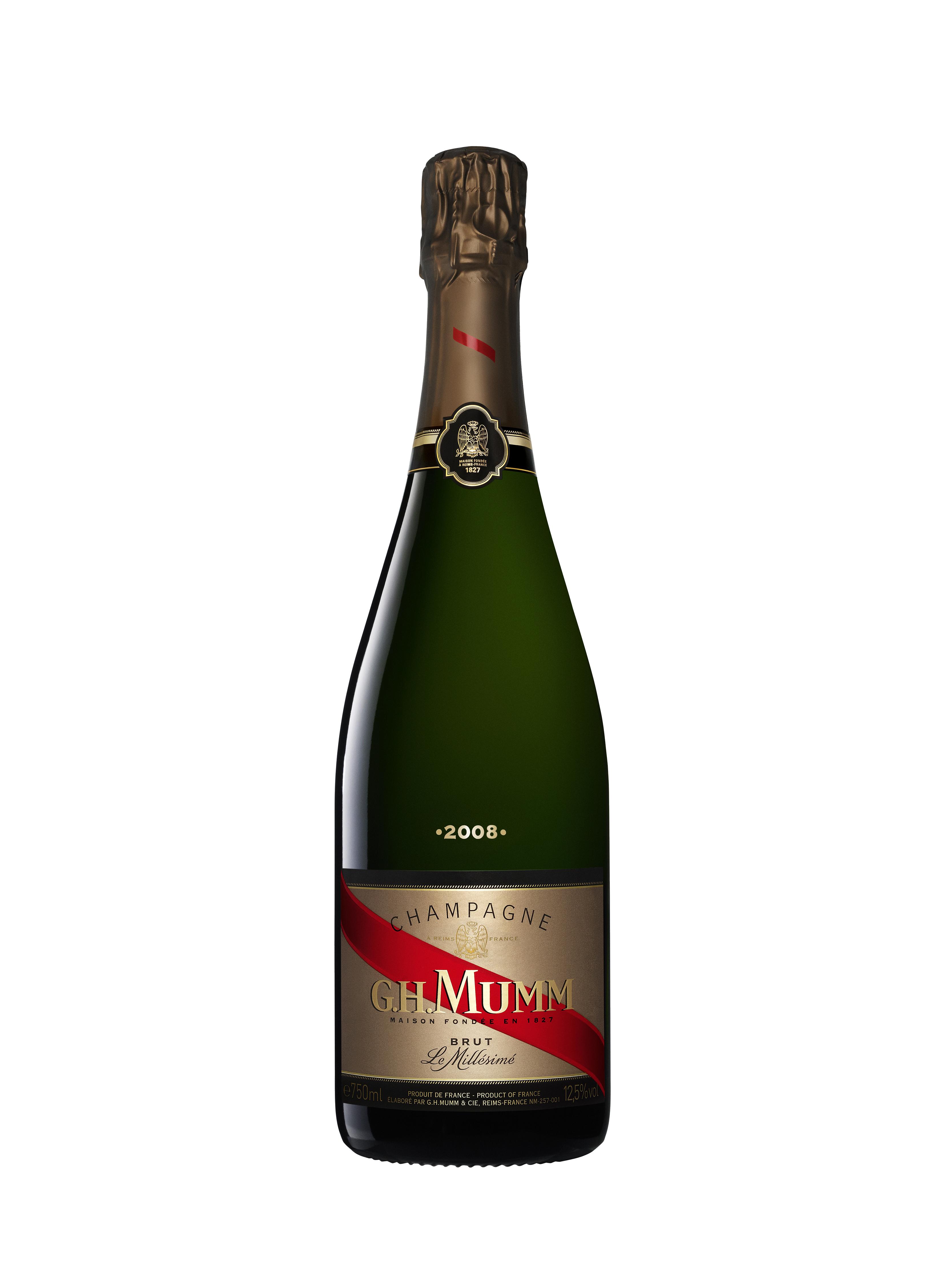Champagne millésimé 2008