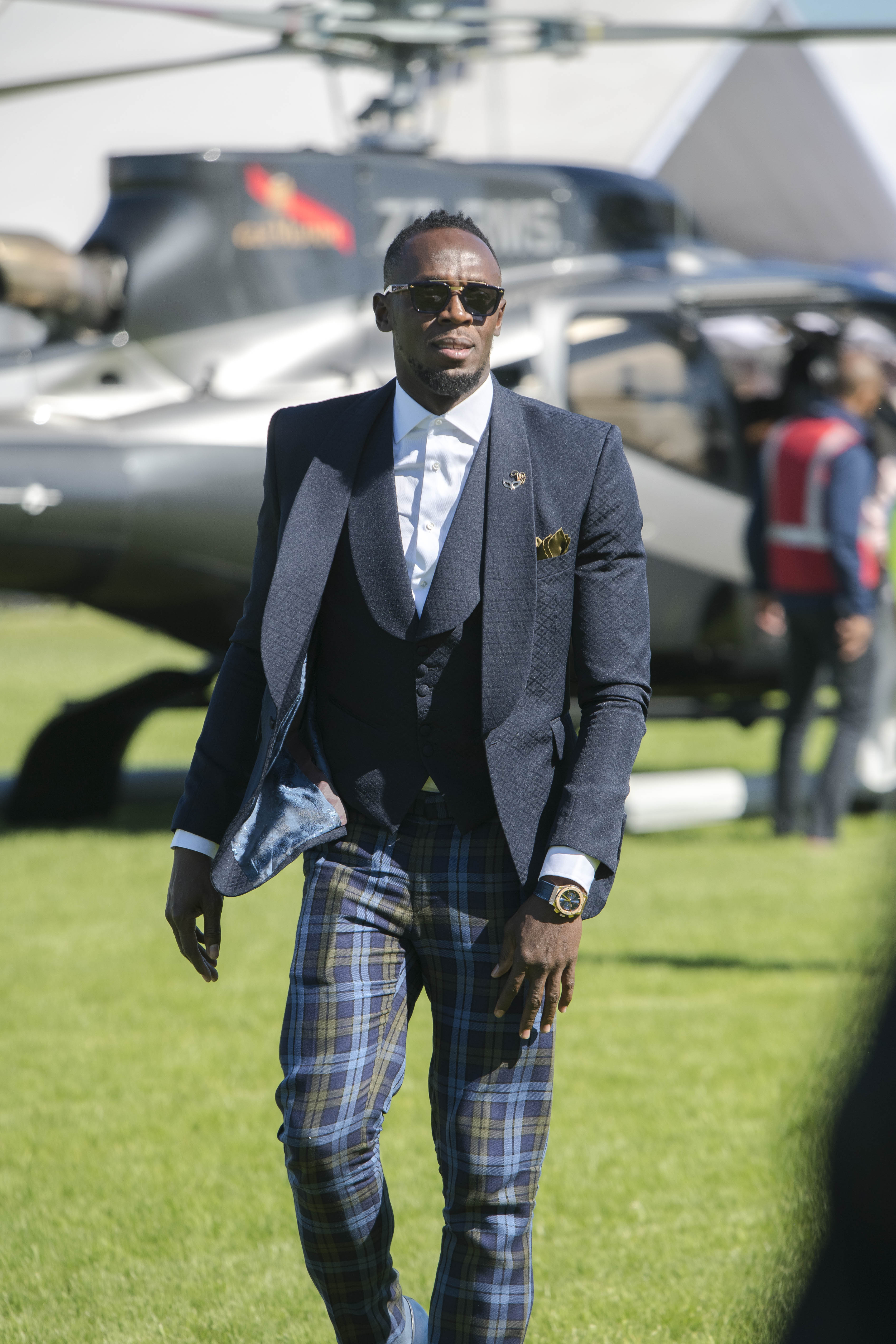 Usain Bolt and Africa's Richest Race Day.
