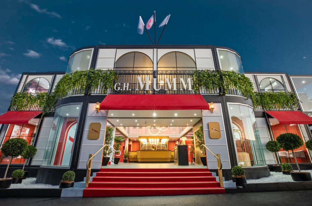 THE MAISON MUMM HOTEL UNVEILED