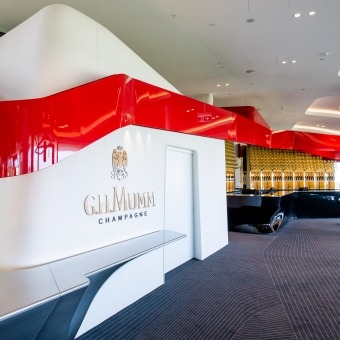 Mumm Events - MAISON MUMM OFFICIALLY OPENS FIRST GLOBAL FLAGSHIP CHAMPAGNE BAR AT FLEMINGTON