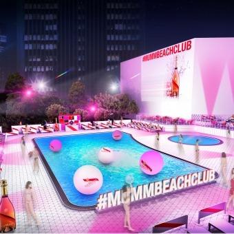 メゾン マムのイベント - Mumm Beach Club