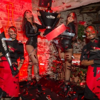 Mumm Events - Maison Mumm unveils revolutionary new Champagne bottle at official Melbourne launch