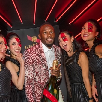 ポートレート - Mumm Grand Cordon Tokyo Usain Bolt