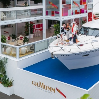 G.H.マム イベント - Mumm Yacht Melbourne Cup Australia