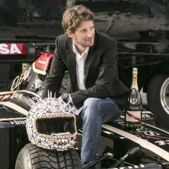 Retratos - ROMAIN GROSJEAN