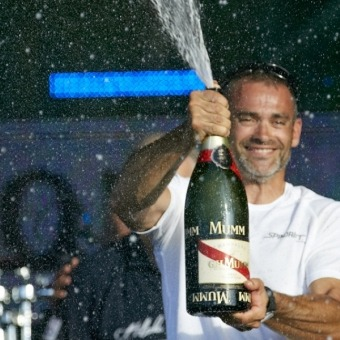 Victories - MUMM CELEBRATES THE ROUTE DU RHUM 2014